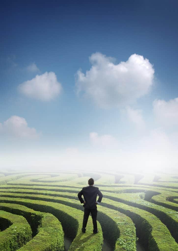 Content-Marketing, Content Coaching, Buyer Persona, SEO, verkaufsstarke Werbetexte: SEO ist die Strategie, um aus dem Labyrinth zu entkommen